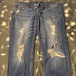 Vintage style Hollister boyfriend jeans